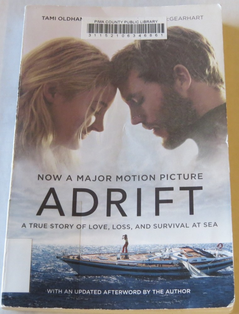 Adrift by Tami Oldham Ashcraft with Susea McGearhart