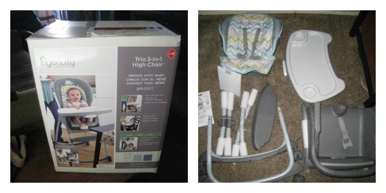 ingenuity high chair plastic kids #ingenuity avondale trio 3-1 highcair - mom's six little monkeys