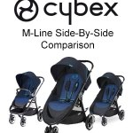 Cybex M-Line Strollers Side-By-Side Comparison