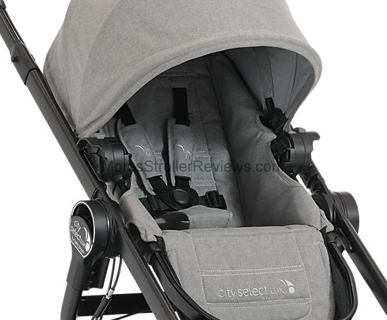 Baby Jogger City Select Lux Seat Positions