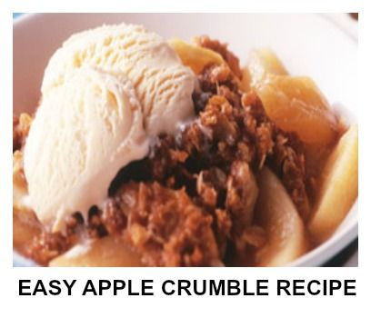 how to make apple crumble without an oven