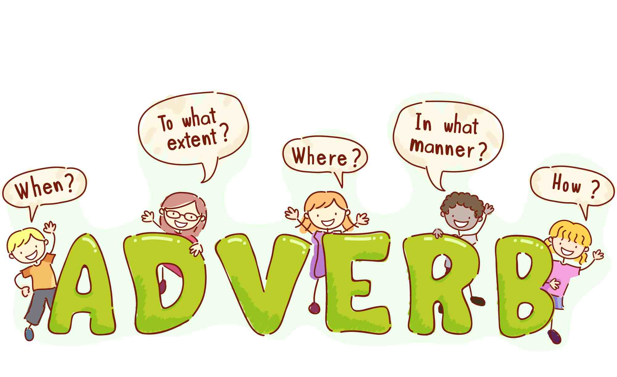 hight resolution of List of Adverbs