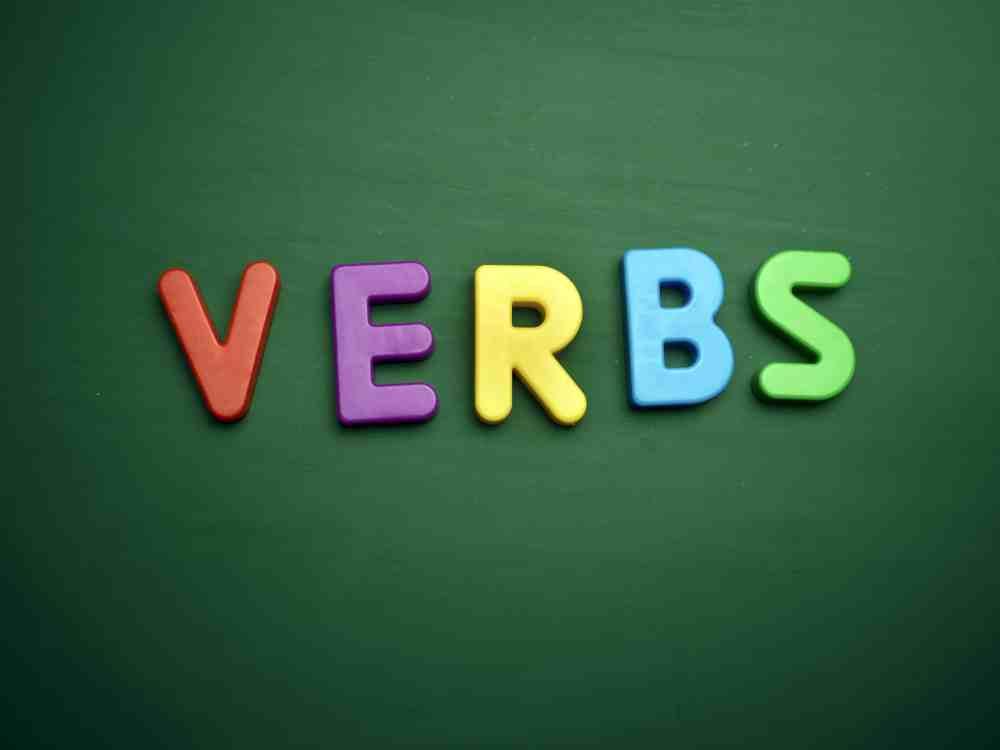 medium resolution of List of Verbs