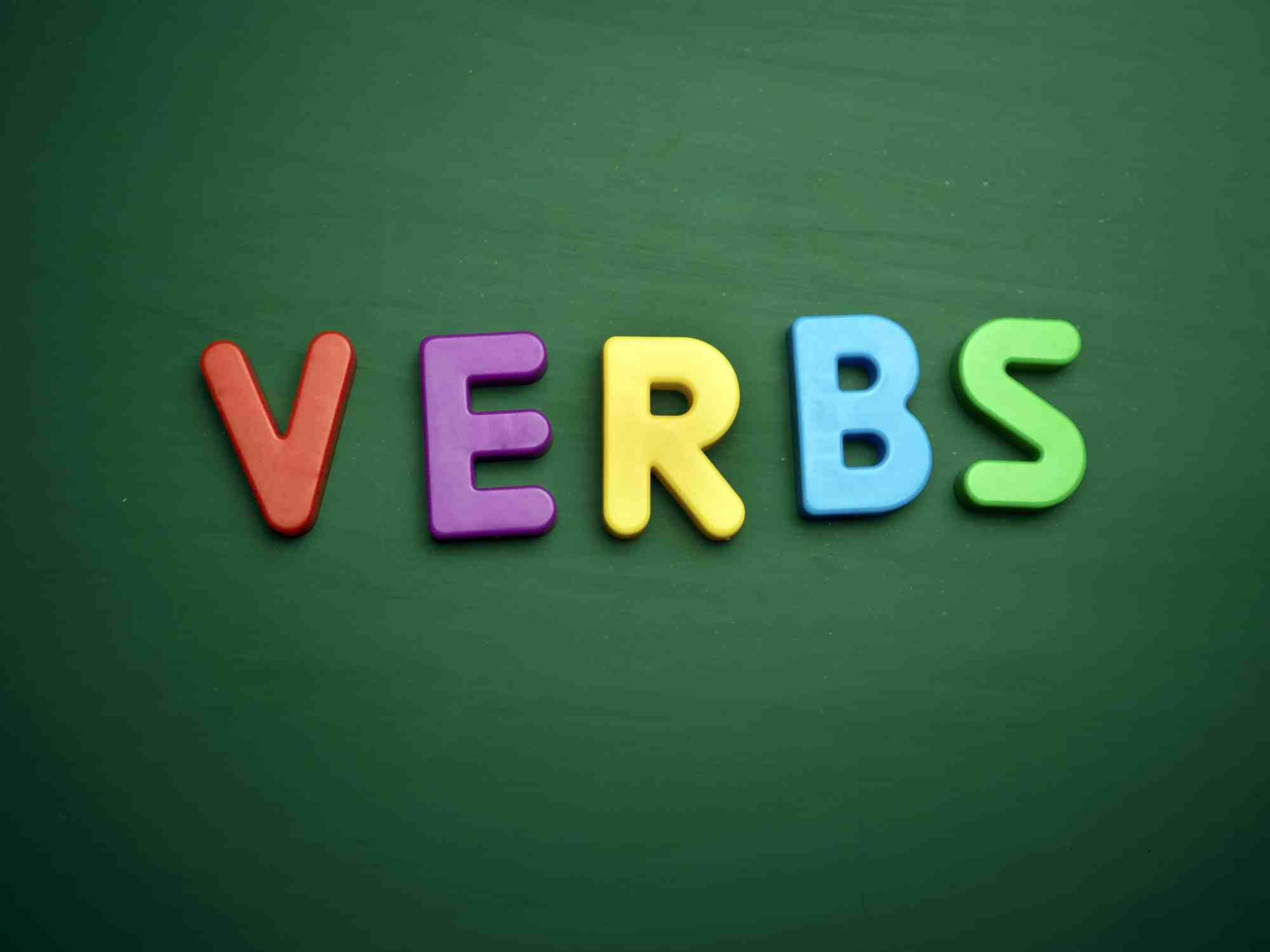 hight resolution of List of Verbs