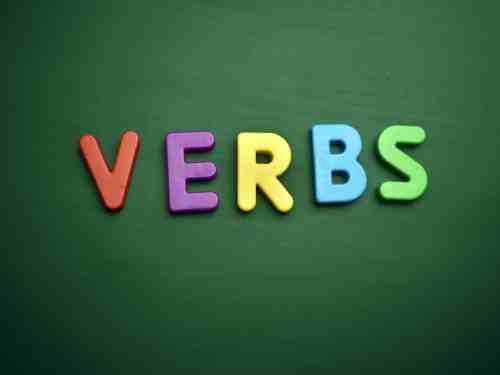small resolution of List of Verbs