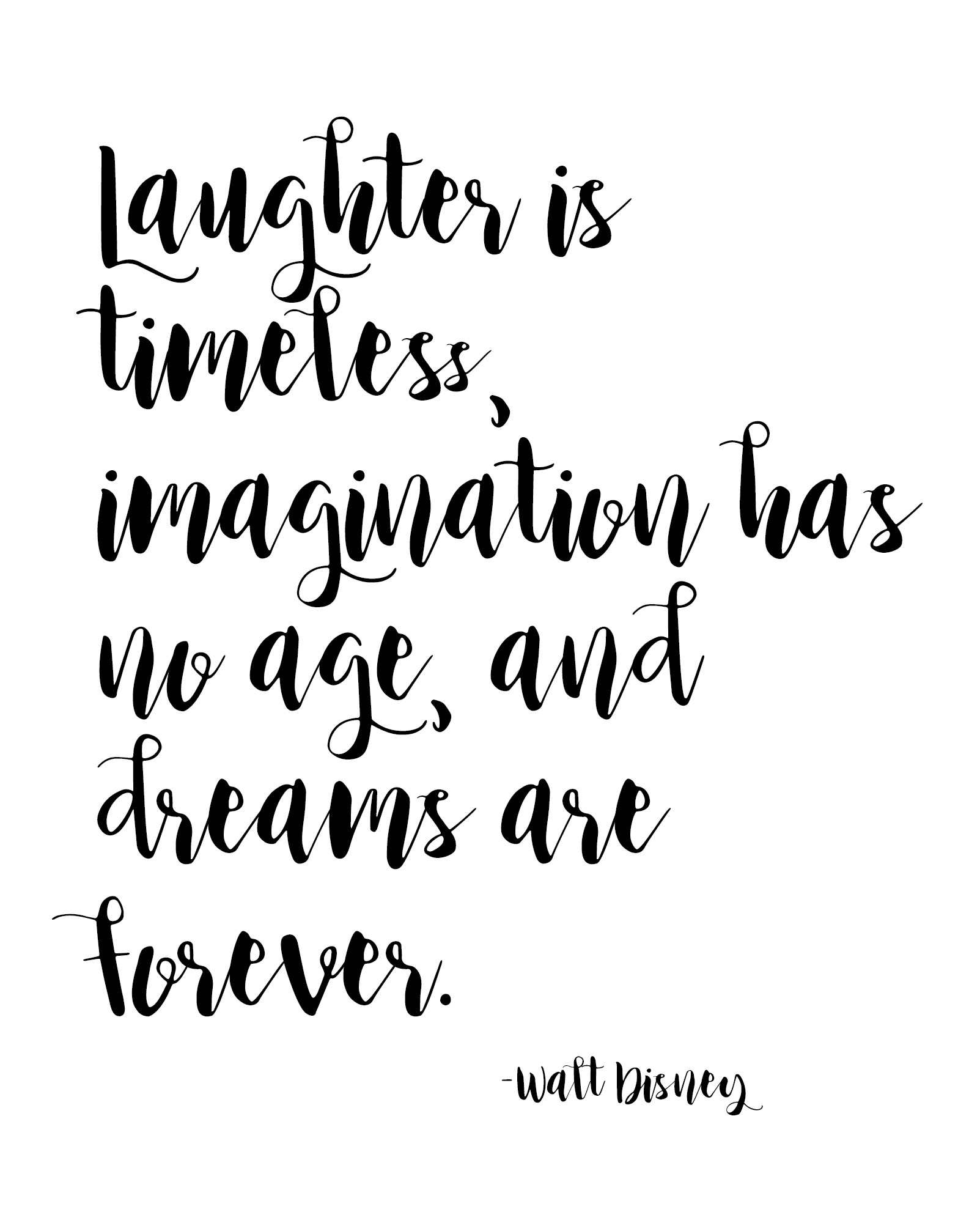 Printable Quote Black And White