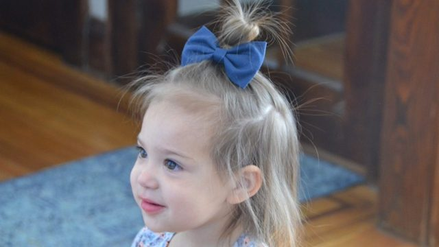 5 quick & easy hairstyles for toddler girls