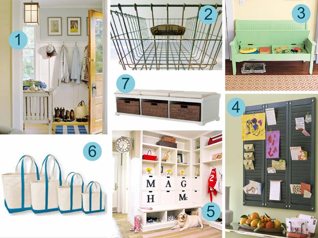 How To Organize Your Mudroom