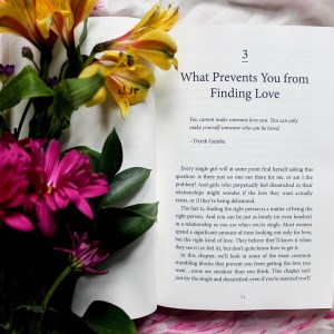 A book and Bouquet