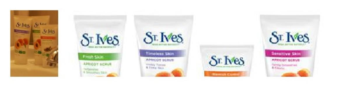 St Ives Apricot Exfoliating Scrub