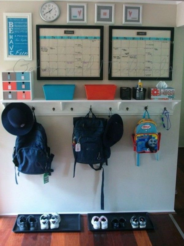 Entryway Command Center