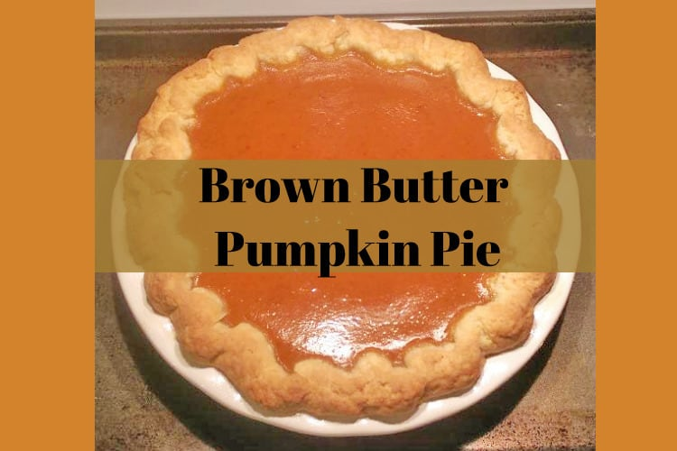 Pumpkin Pie Without Canned Milk   mom with cookies