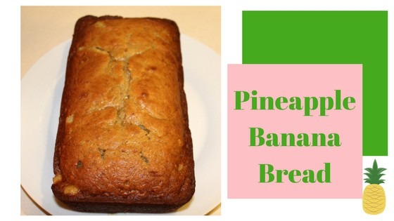 Pineapple Banana Bread Recipe