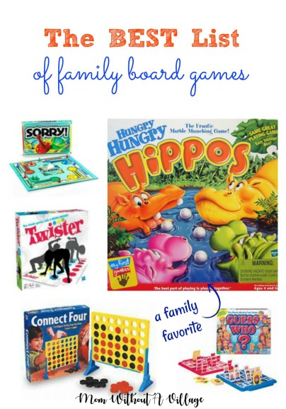 Best List of Family Board Games