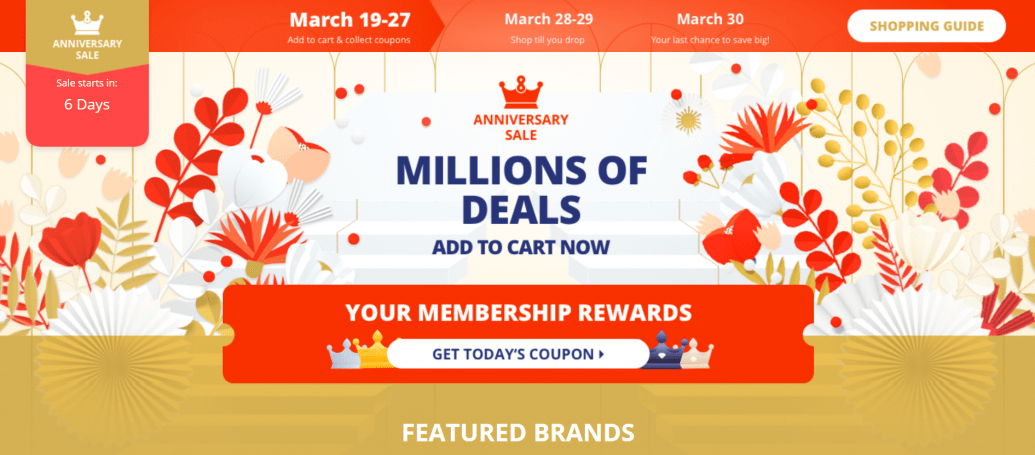 Ali express Aliexpress Anniversary sale on 28.3.18 – All offers and discounts: