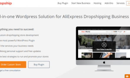 How to open an online store with Dropshipping with AliExpress and plugins you should know – Oberlo for shopify and Alidropship for WordPres