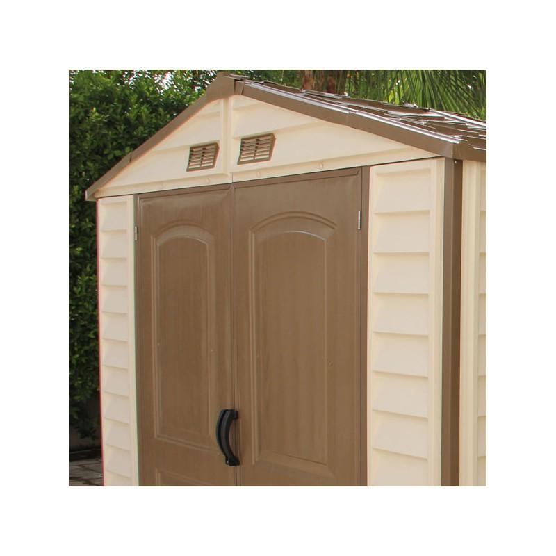 Abri De Jardin En PVC WoodStyle Premium 413m Duramax