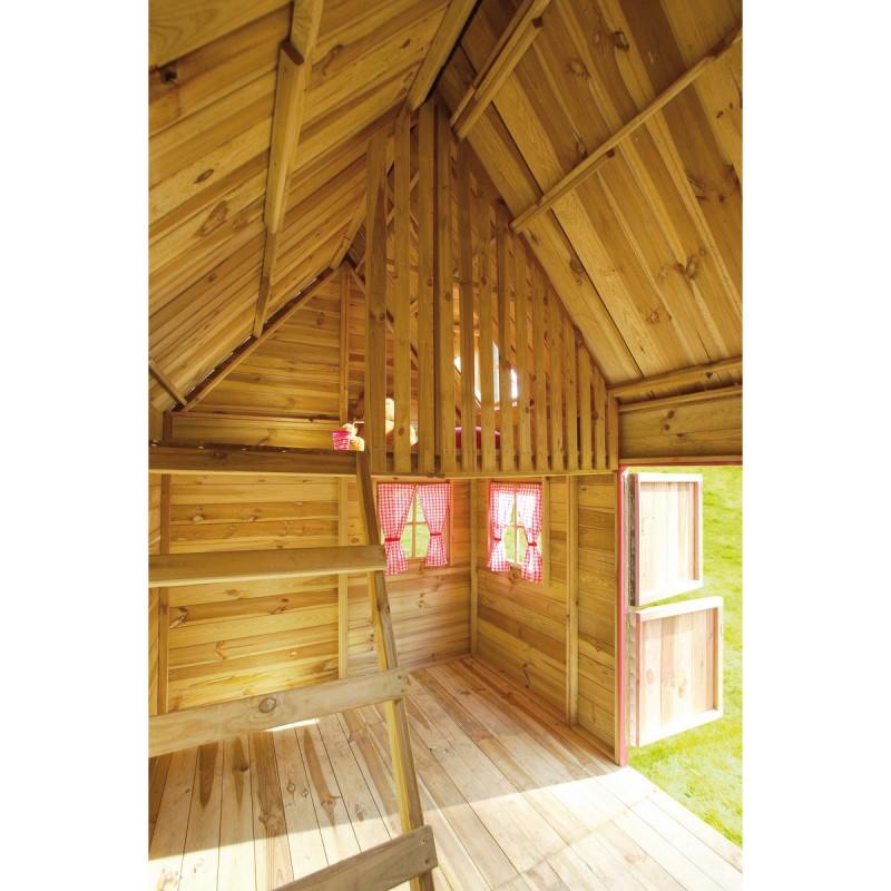 Petite Maison En Bois Pour Enfants 248x160x240cm Cerland