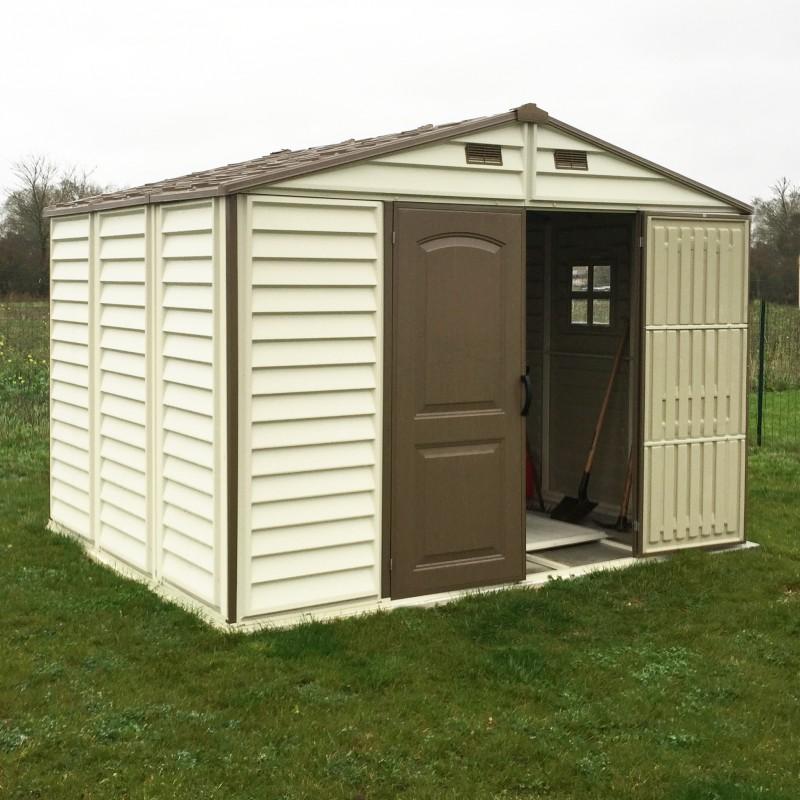 Abri de jardin en PVC WoodStyle Premium 768m  Duramax