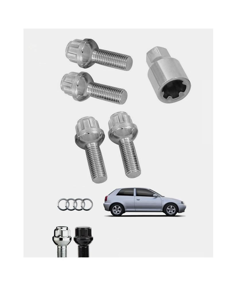 Écrous antivol de roues Audi A3 (8L) S3, Sportback, Quattro