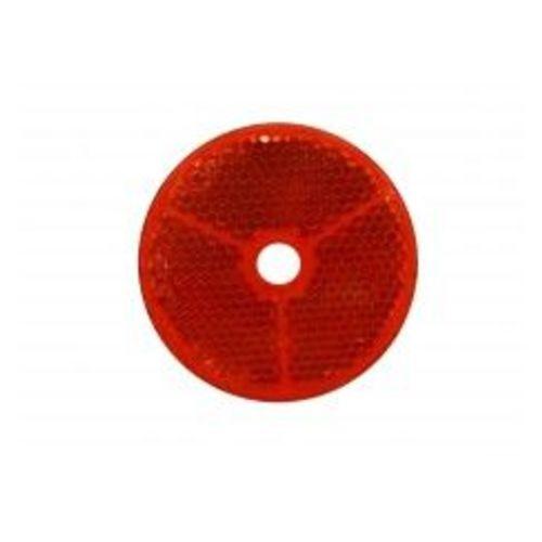 Catadioptre jokon a visser rouge diametre 60 mm