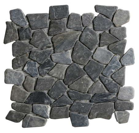 galets plats 33x33 star mosaic