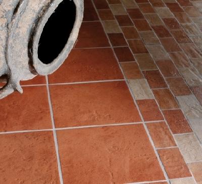 Carrelage de sol extrieur moderne pierre parquet terre cuite