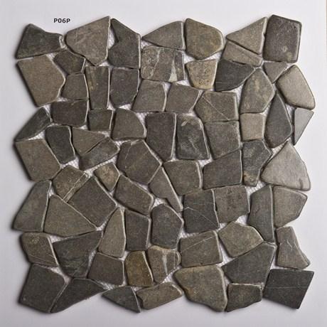 Galets plats pierre ou marbre  MonCarrelagecom