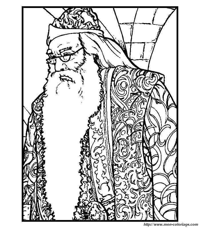 Coloriage de Harry Potter, dessin dessin harry potter à