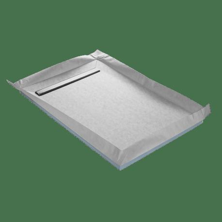 receveur a carreler ep 4 cm 120 x 90 cm lineboard u tile
