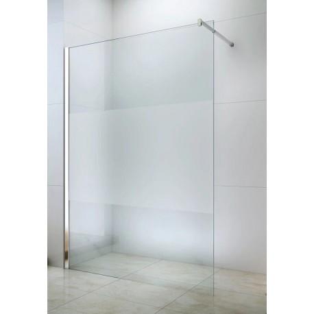 paroi de douche walk in verre depoli 120 x 200 cm kipling doccelli
