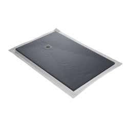 receveur resine blanc 160 x 90 cm