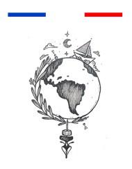 Tatouage Tour du Monde