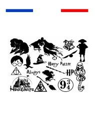Tatouage temporaire univers Harry potter déguisement