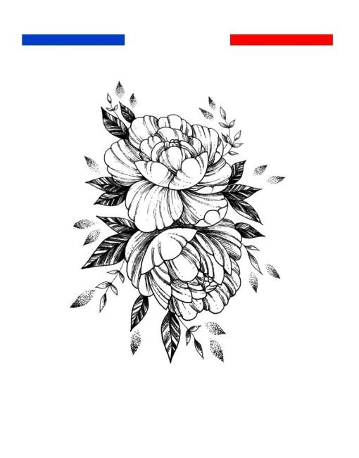 tatouage fleur femme avant bras
