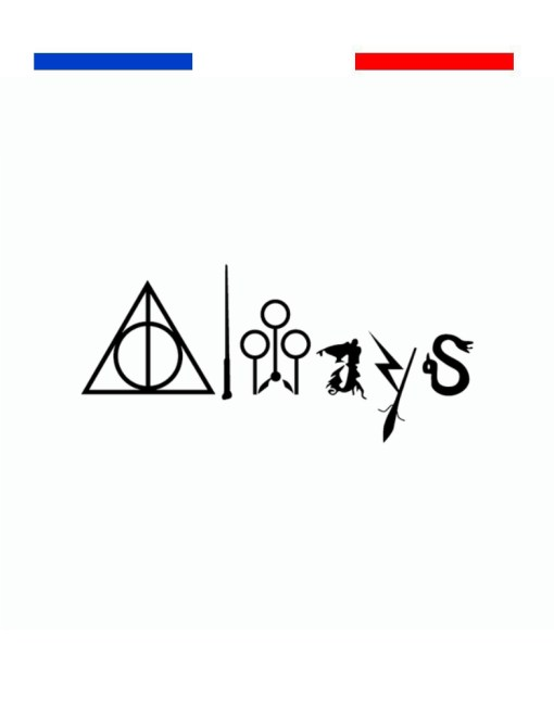 Tatouage Always Harry Potter Quidditch