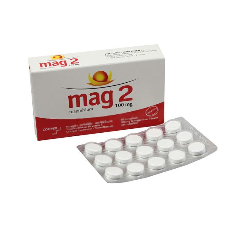 mag 2 100mg 60 comprimes mon pharmacien conseil