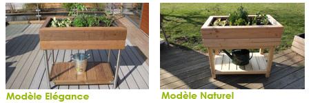 jardinet le bac de jardinage en bois hortus concept
