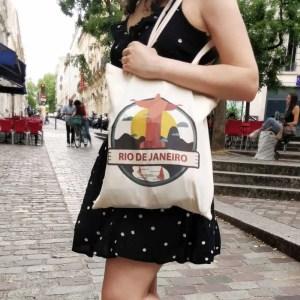 tote bag noel ecologique
