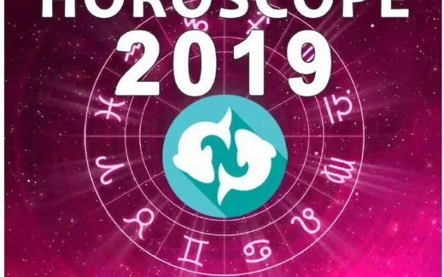 Horoscope POISSON 2019