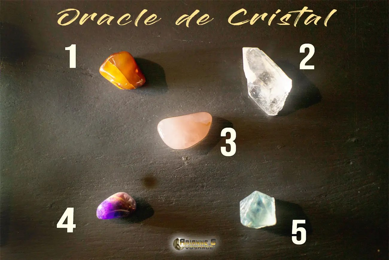Tirage de l'Oracle de Cristal