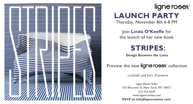 Stripes by Linda O'Keeffe Launch Party