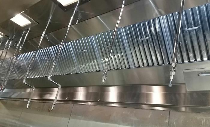degraissage de hotte de cuisine professionnelle