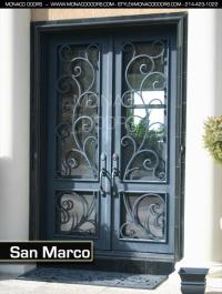 Iron Doors | Monaco Doors | Custom Doors | Wrought Iron Doors