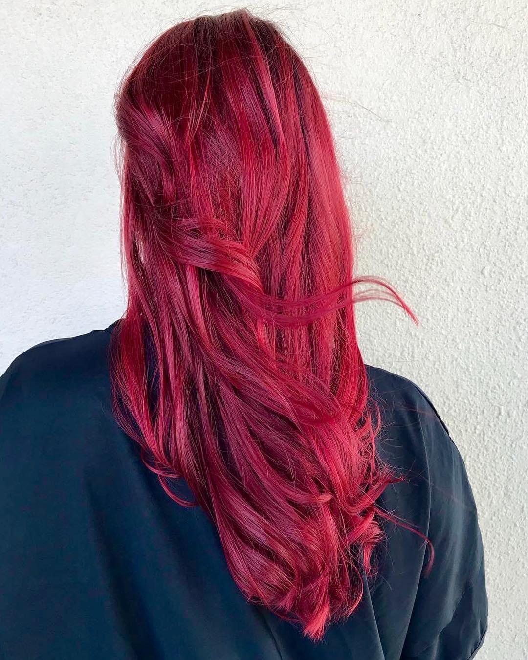 vivid fantasy hair color