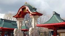 L'entrée du zoo