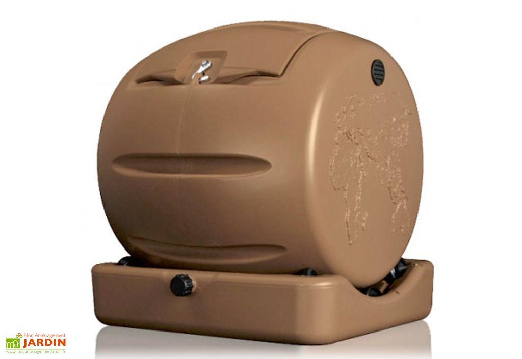 Bac Compost Mini avec Th de Compost 65L  Envirocycle