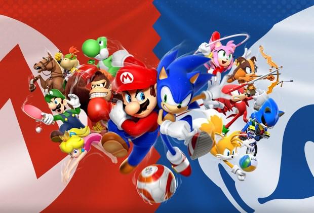 Mario Sonic Rio Olympics