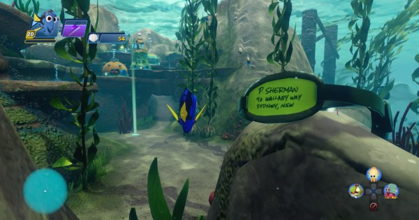 Finding Dory - Diver's Mask