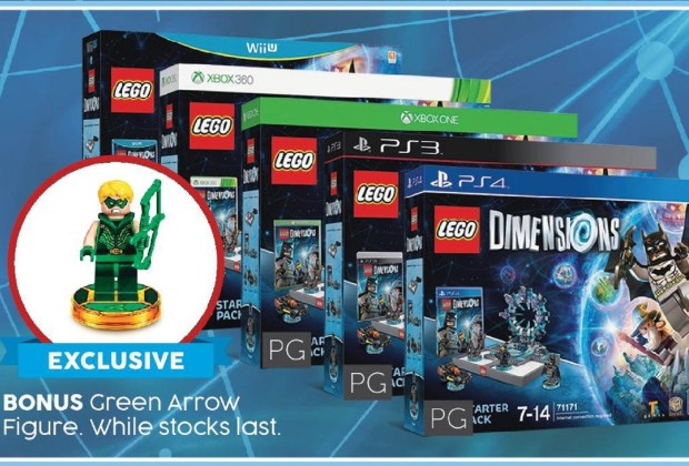 Green Arrow's LEGO Dimensions Figure at Target